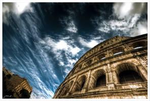 Sky over Rome by Jurnov