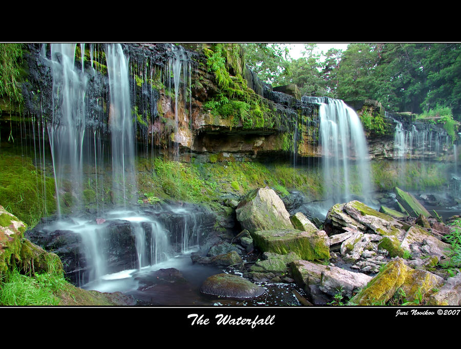 The Waterfall by Jurnov