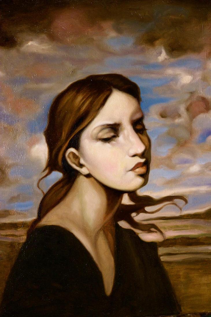 Wind in Her Hair by FiguraArto