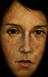 Face Study I by DeLumine