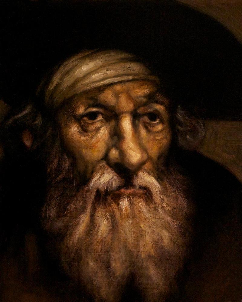 Bearded Old Man by DeLumine