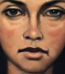 Portrait of Sandra - Detail