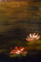 Water Lillies - Detail by DeLumine