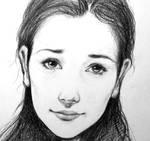 Bev - Pencil Portrait Sketch