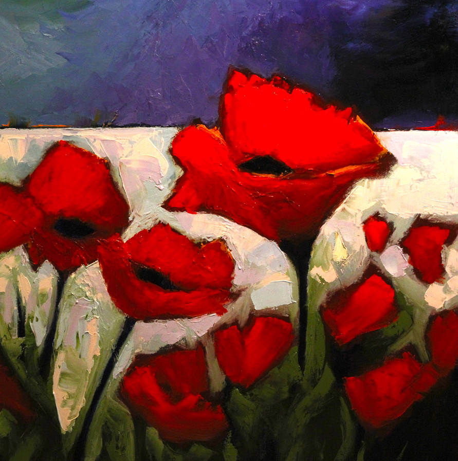 Poppies - Big Ones - she said by DeLumine