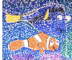 Finding Nemo Pointillism