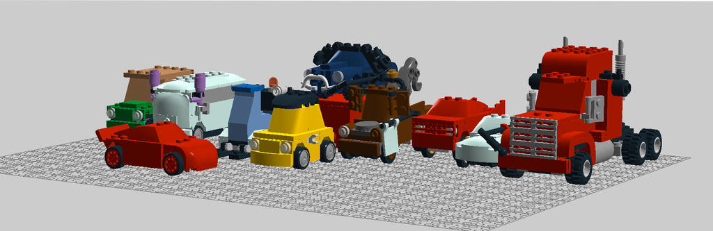 Lego Radiator radiator springs racing teamthearist2013 on deviantart