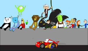 Pixar vs DreamWorks racing