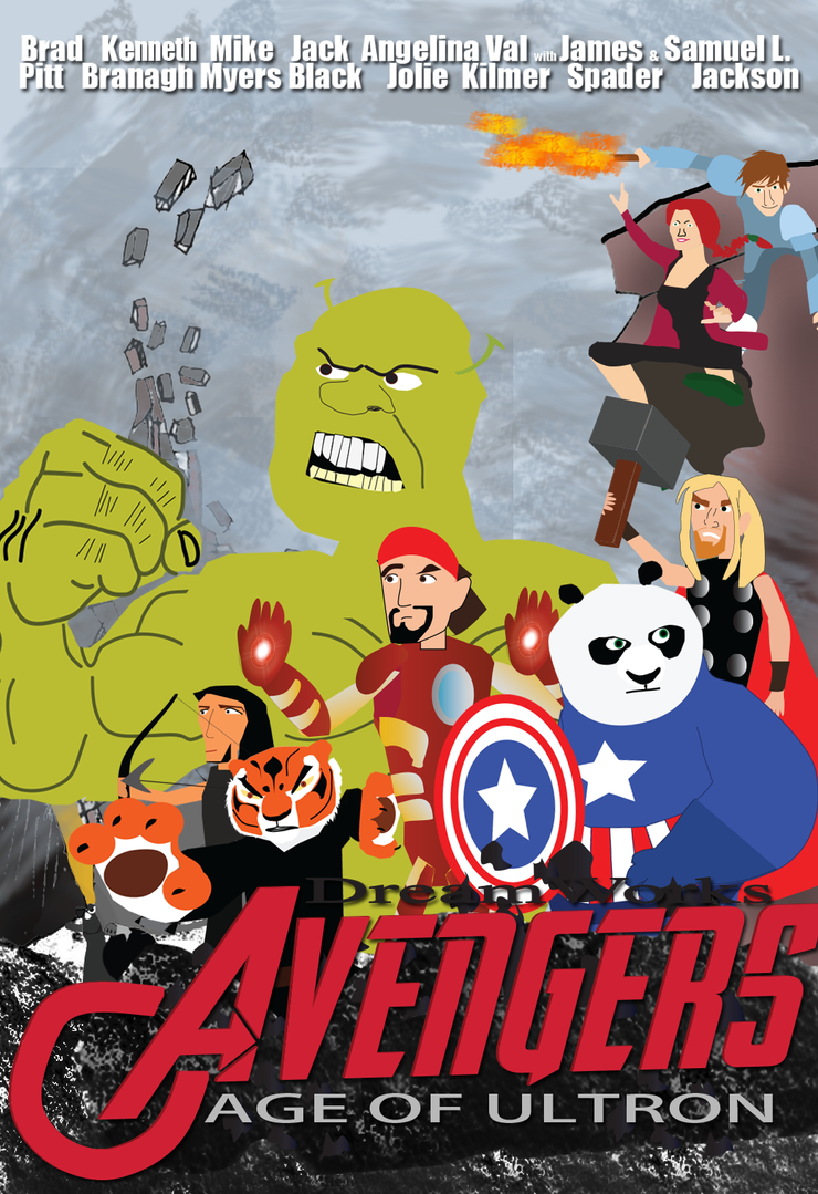 Avengers Age Of Ultron By Iloegbunam On Deviantart: DreamWorks Avengers: Age Of Ultron By Thearist2013 On