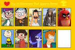 Top 9 Characters That Deserve Better