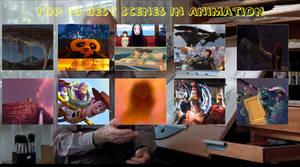 Top 10 Best Scenes in Animatied Movies