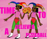 Pizza Twins Time to deliver a Pizzaball by thearist2013