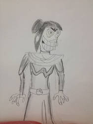 Azula (Ren and Stimpy style) by thearist2013
