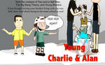 Young Charlie and Alan promo by thearist2013