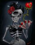 Senorita Lockheart by tat2pooch