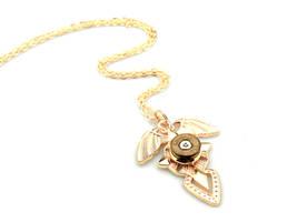 Bullet Cross Pendant - Winged Cross Necklace by IndustrialSwank