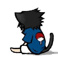 Neko Sasuke by semokan