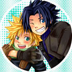 Pins--Cloud+Zack