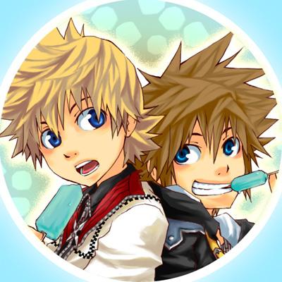 Badges__Sora_X_Roxas_by_semokan