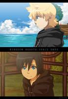 KH:358-2Days anime version by semokan