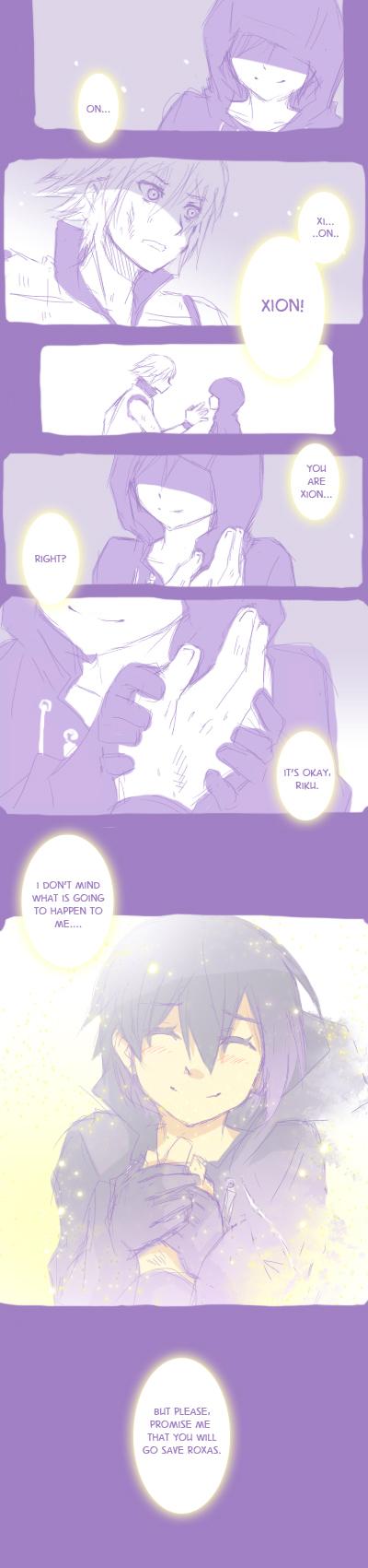 KH3D Random manga by semokan