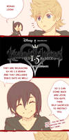 The Trio Talk about KH HD1.5Remix