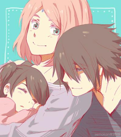 The Uchiha Family by semokan