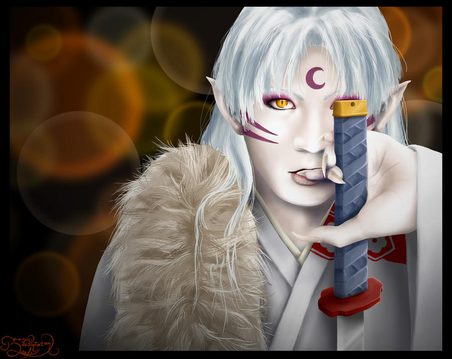 Sesshomaru by be-a-sin