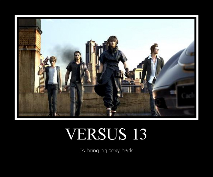 Versus 13 Motivational Poster by Katchihe