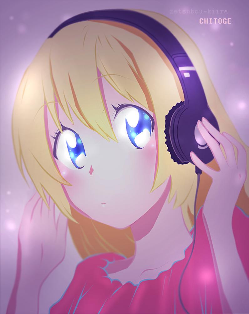 Chitoge manga page colour by zetsubou-kiira