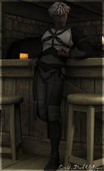 DeReMo 13: Creid in Tavern by oriridraco