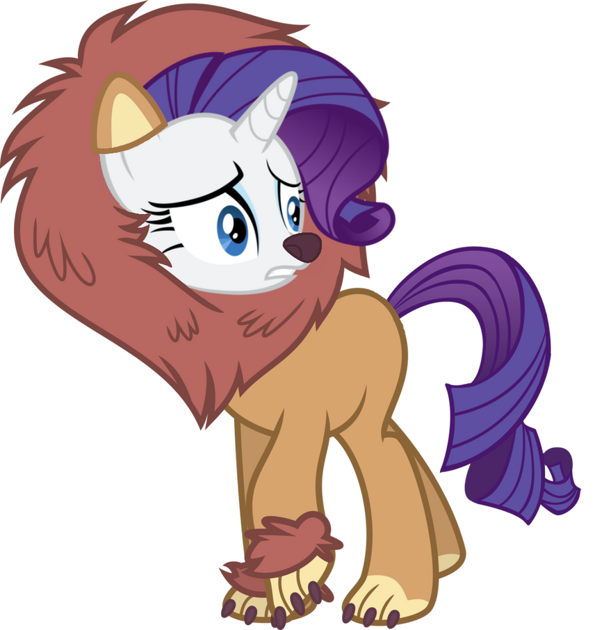 rarity_is_a_lion__by_sikander_mlp-d9fkrk