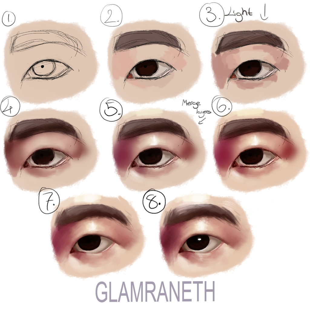 Eyes on drawing tutorials deviantart itaxita 181 16 eye tutorial 2 by glamra ccuart Images