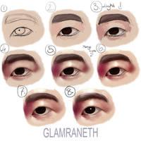 Eye Tutorial 2 by Glamra
