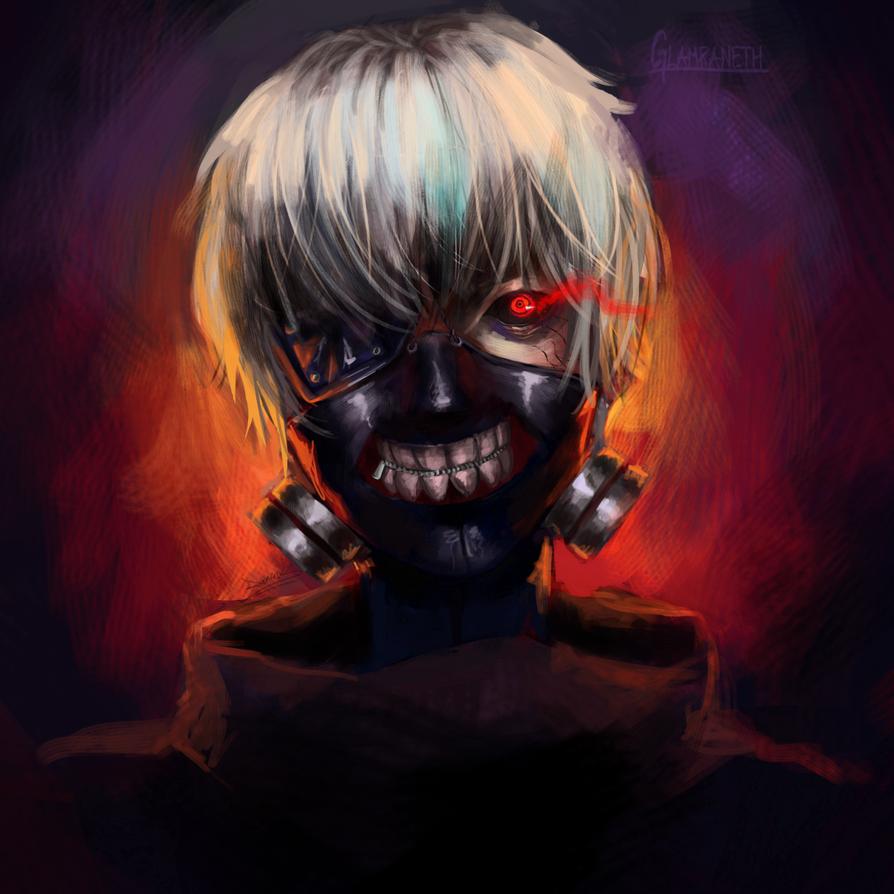 Kaneki Ken Fan Art By Glamra On DeviantArt