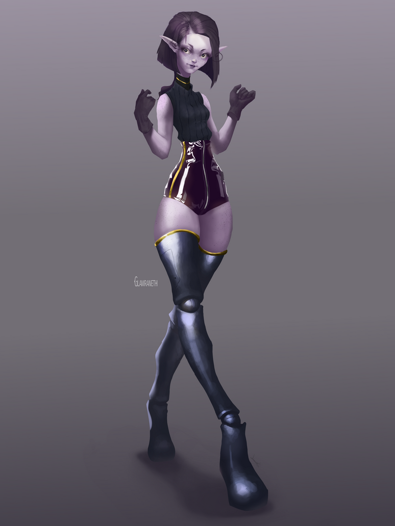 Pandora Character Concept Art by Glamra