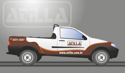 Fiat Strada 2010 Atilla coffee Roaster