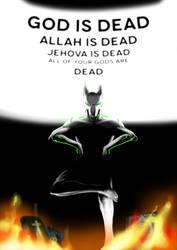 God is dead, said Janus by MC-FRAN
