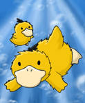 Psyduck and Duckling