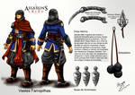 Game Arte Assassin's Creed Guerra dos Farrapos