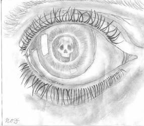 M.C. Escher 'Eye' Drawing