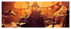 Candleblight Festival    Candletown Faire by Malfey-VII