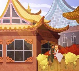 Snow Queen - Friendship by kiki-doodle