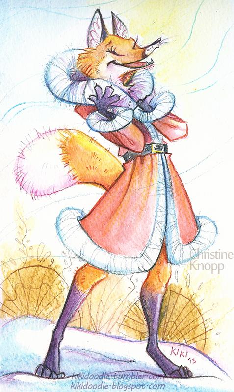 Fox Fur by kiki-doodle