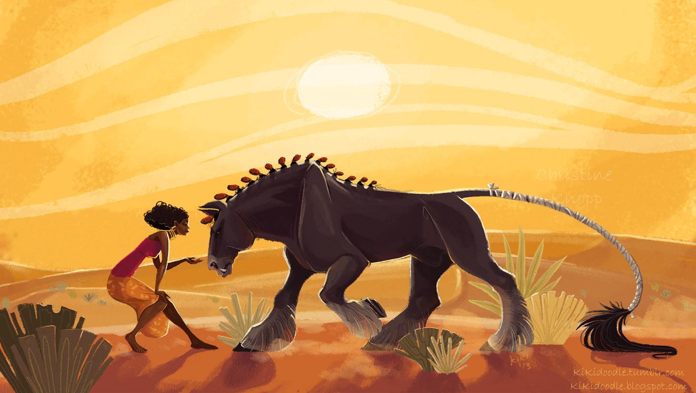 Desert Heat by kiki-doodle