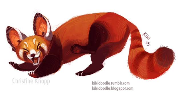 Red Panda by kikidoodle on DeviantArt