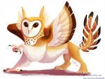 barn owl gryphon