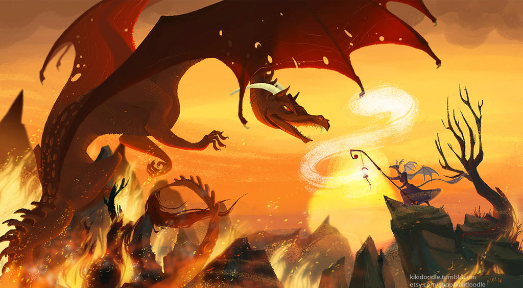 Sunfall Inferno by kiki-doodle