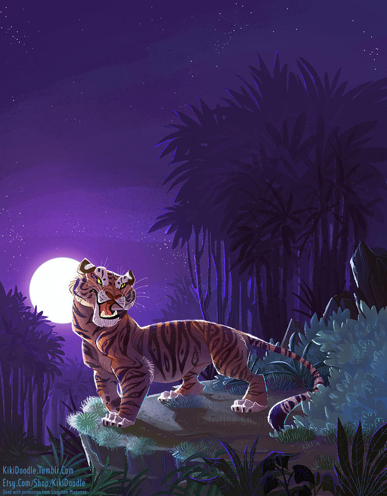 Jungle Book Shere Khan by kiki-doodle
