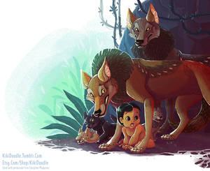 Jungle Book Mama Wolf